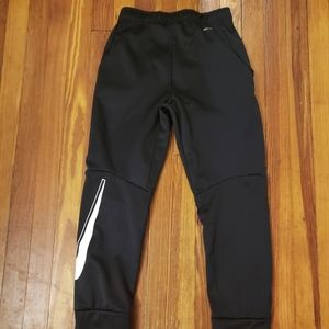 Nike DriFit Kids Black Sweatpants Size Large in ex